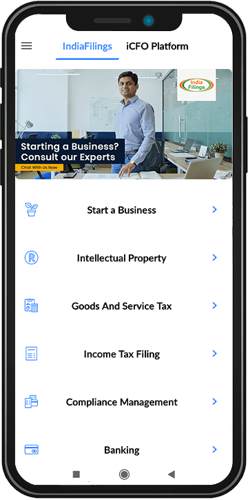 IndiaFilings App