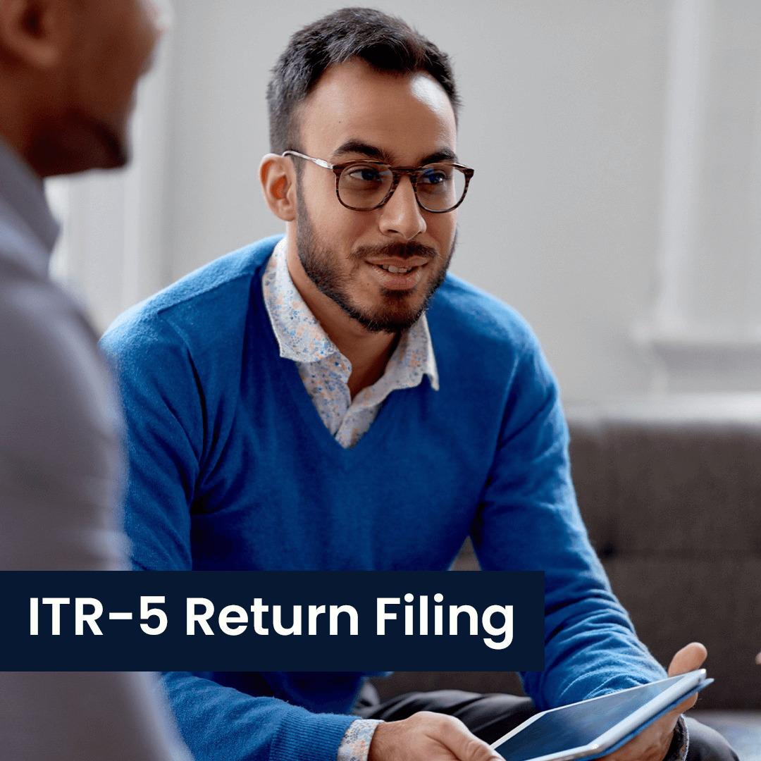ITR-5 Return Filing