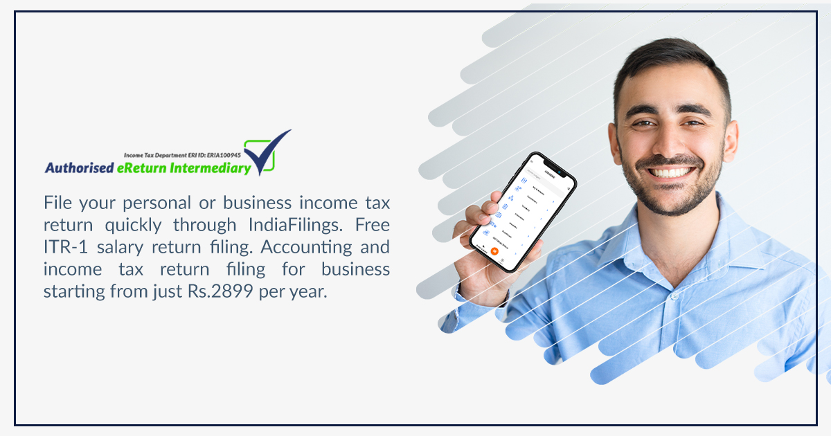 Income Tax India eFiling - IndiaFilings
