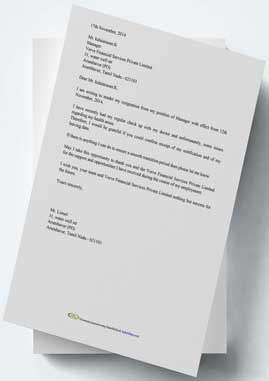 resignation letter format and generator a resignation letter is a