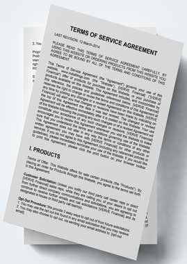 Website Terms and Services Agreement