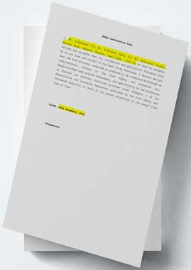 fssai_declaration_form_new Office Resignation Letter Template on short simple, greater opportunity, two weeks notice, aged care, word free,