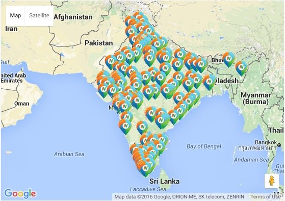 IndiaFilings Map Data
