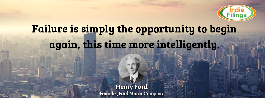 Henry Ford Quote, Failure is an opportunity, business quote, motivational