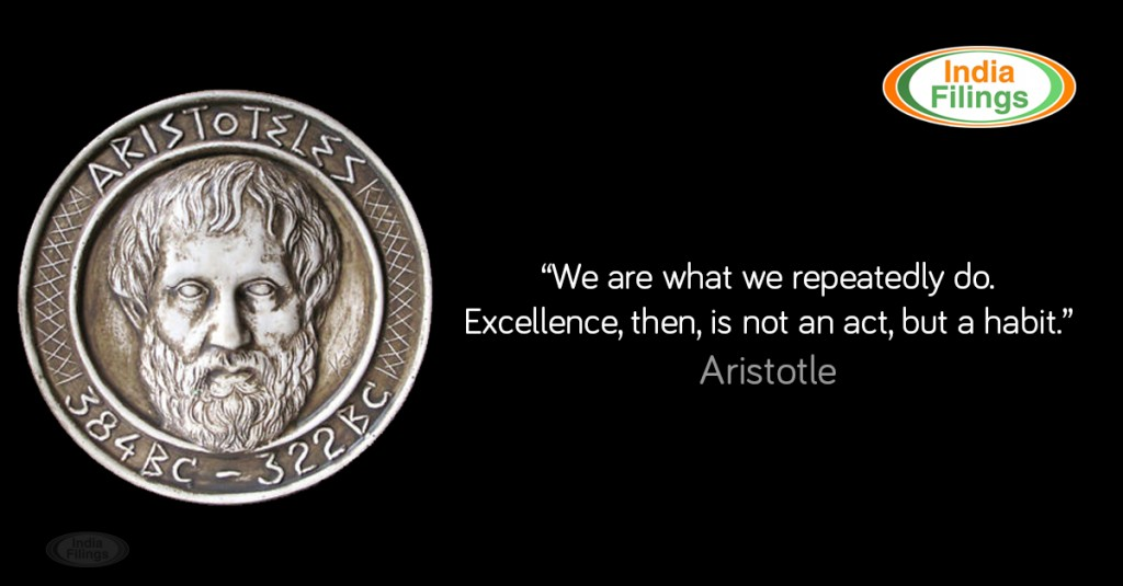 Aristotles Quote on Excellence