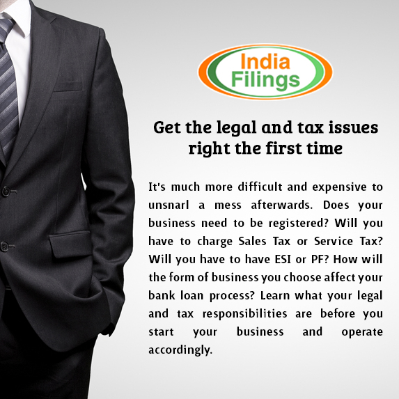 Get the legal and tax issues right the first time