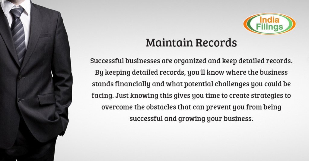 Maintain Business Records