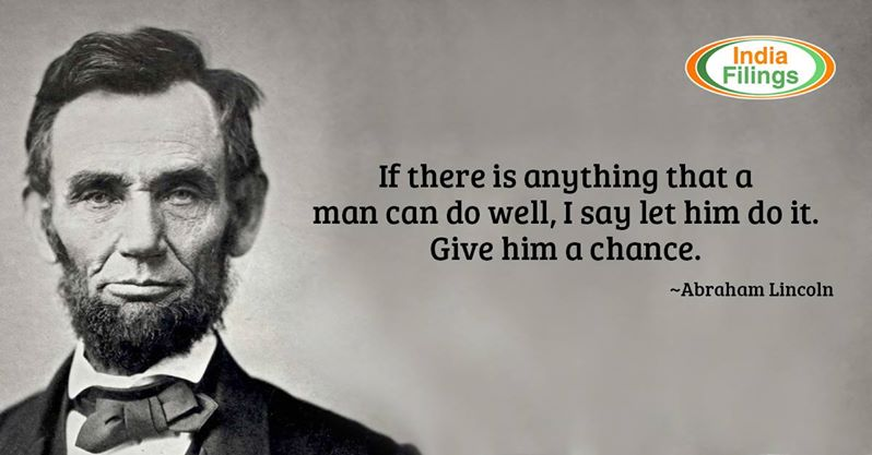 Inspirational Quotes by Abraham Lincoln