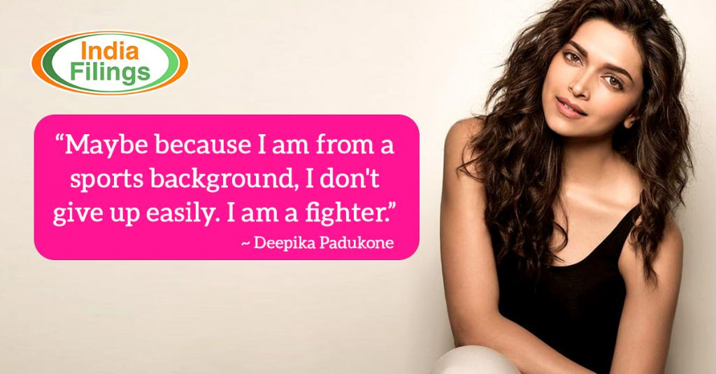 Deepika Padukone Quote on Women Empowerment