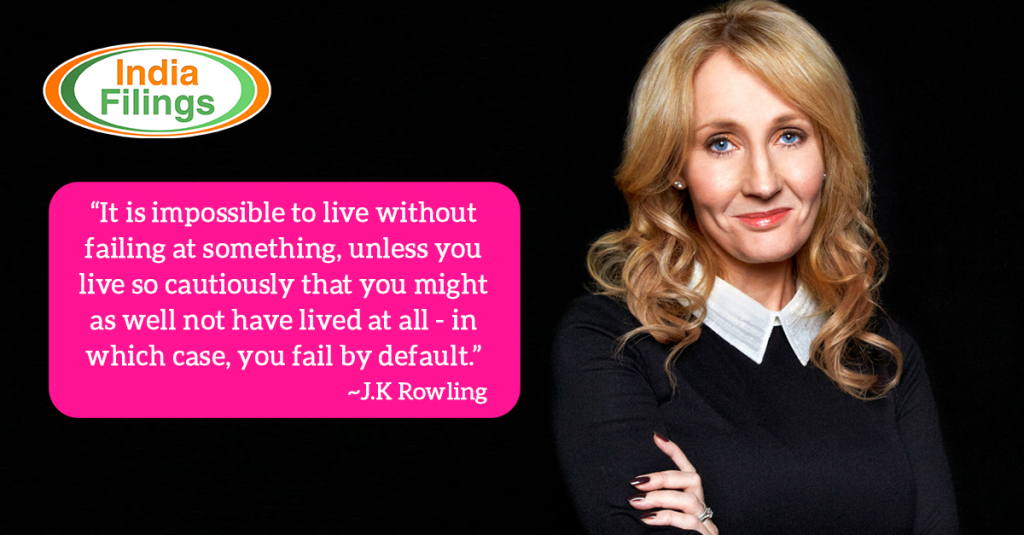 JK Rowling Quote on Women Empowerment