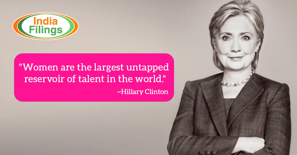 Hillary Clinton Quote on Women Empowerment