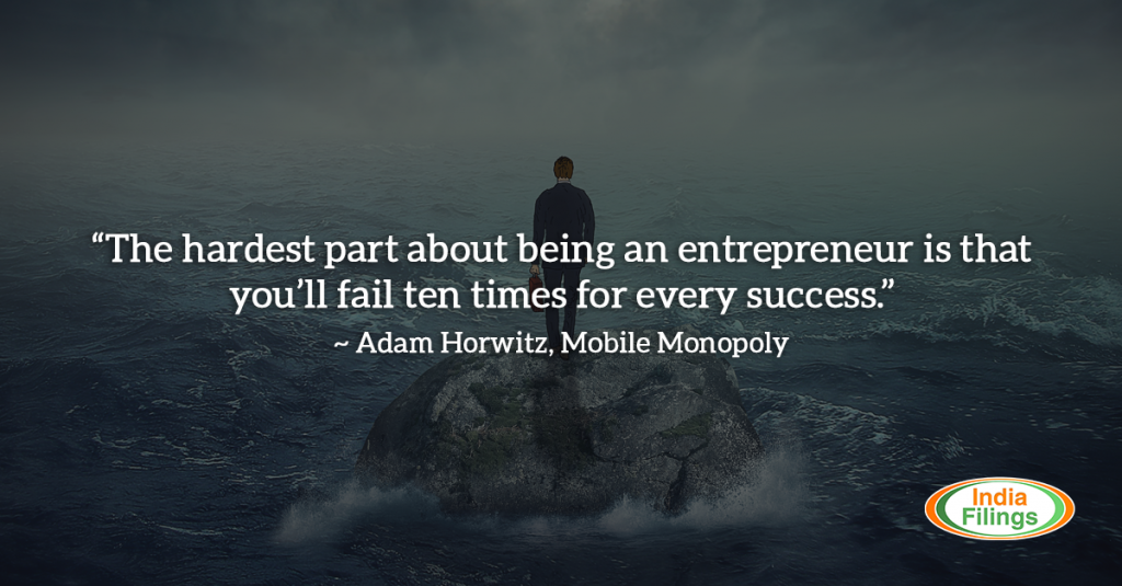 Motivational Quote from Adam Horwitz of Mobile Monopoly