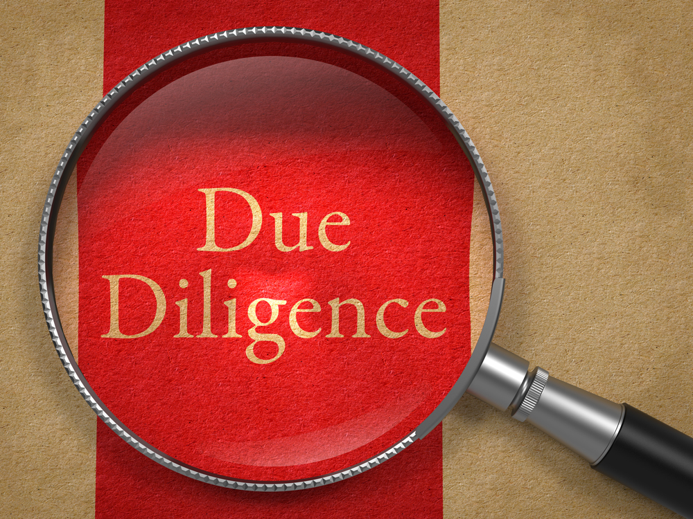 Due Diligence of Company