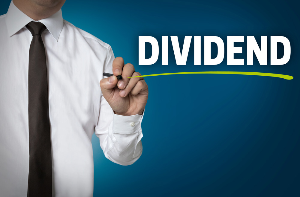 Declaring dividend in company
