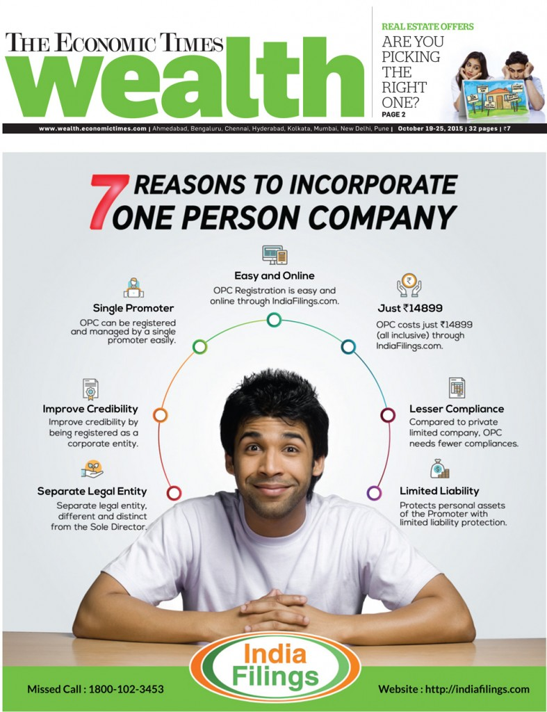 ET Wealth 7 Reasons to Incorporate OPC