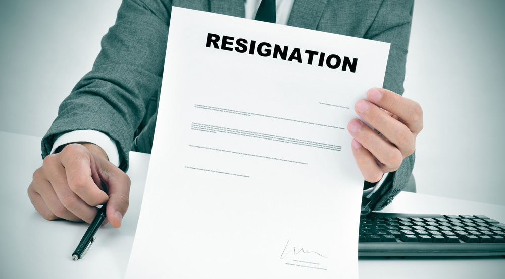 Resignation of Partner in LLP