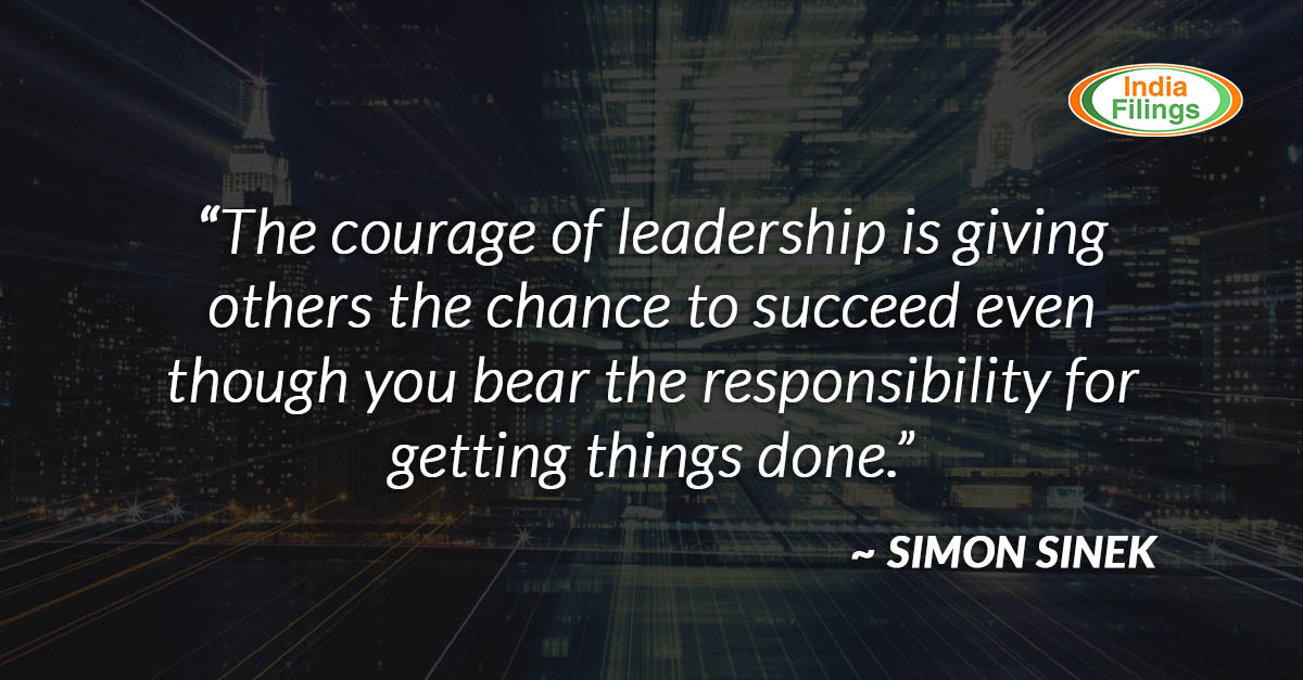 Quote About Courage Of Leadership Indiafilings Learning Centre