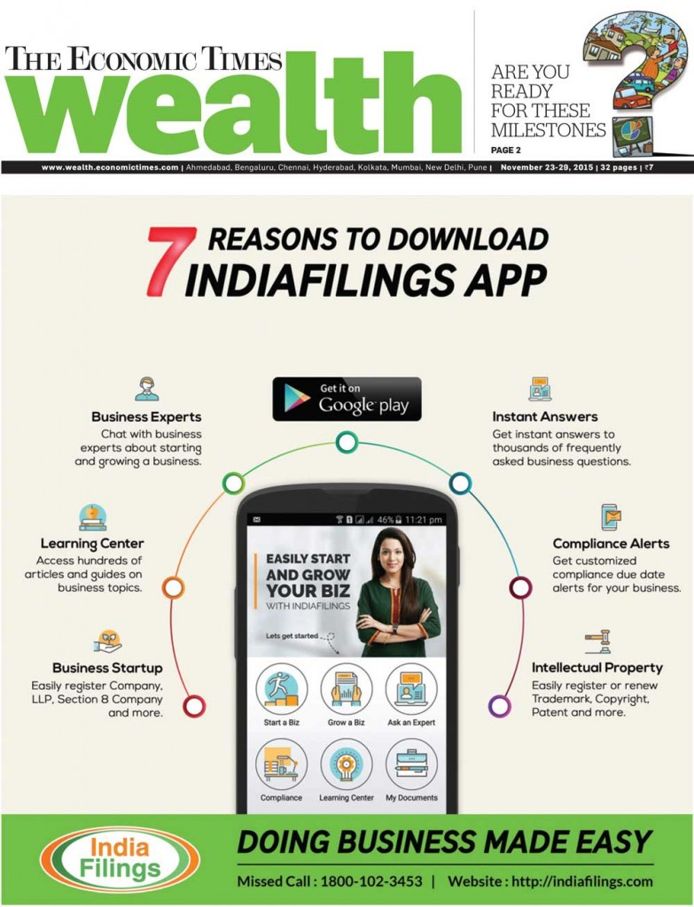 ET Wealth Reasons to Download IndiaFilings App