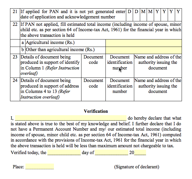 Form 60 Income Tax - Page 2