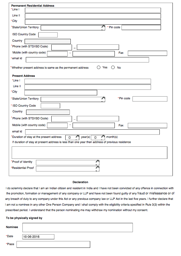 Form INC-3 - Page 2