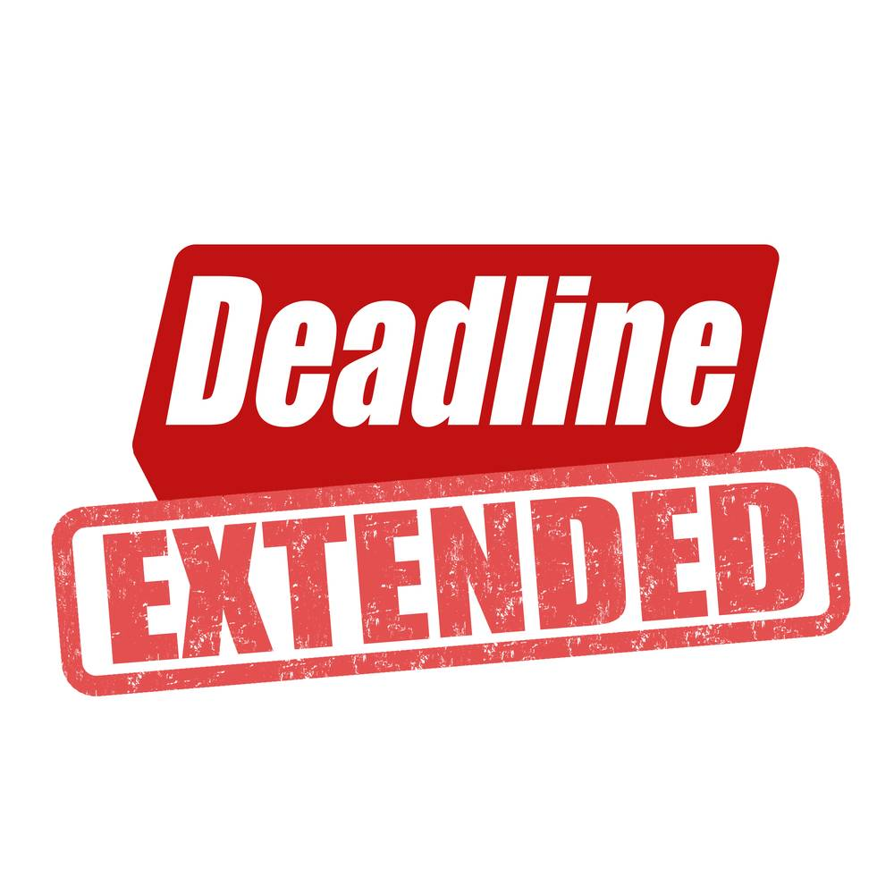 Tax Audit Deadline Extended