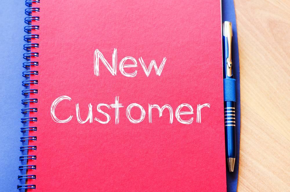 Adding a Customer