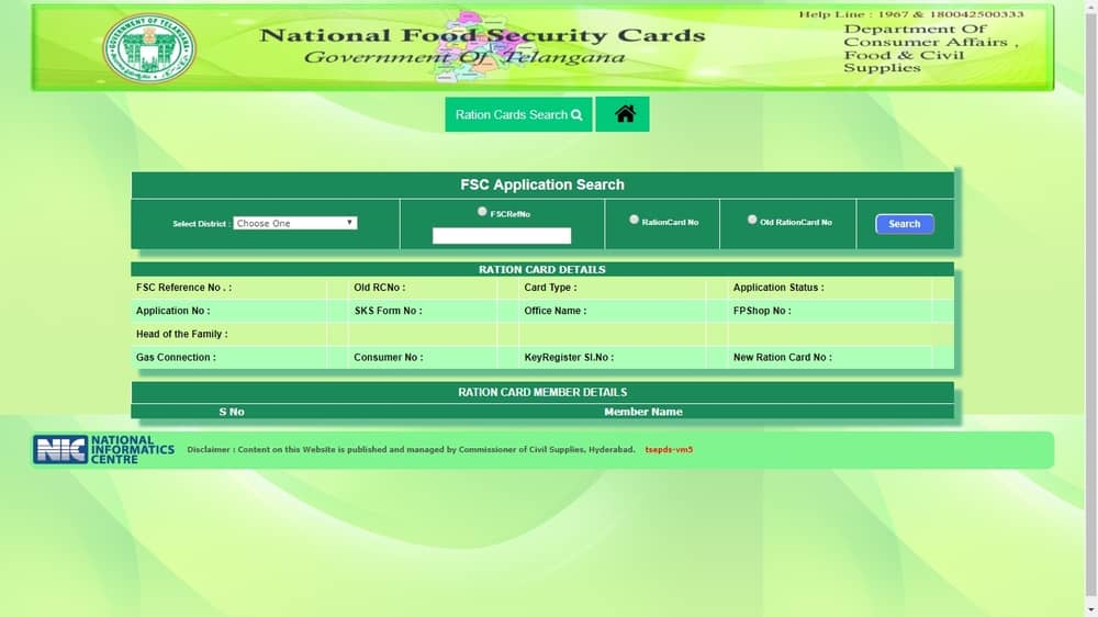 Food Security Card - Eligibility & Application Procedure - IndiaFilings