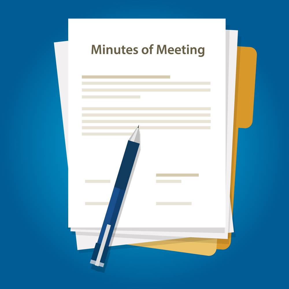 Minutes Of Meeting Sample Format With Best Practices Indiafilings