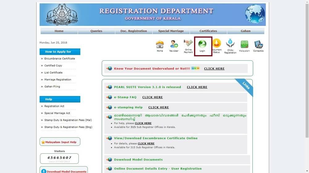 Kerala eStamp - Online Purchase Procedure - IndiaFilings