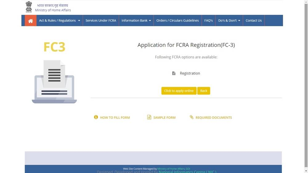 Image 3 FCRA Registration for Trusts and NGOs