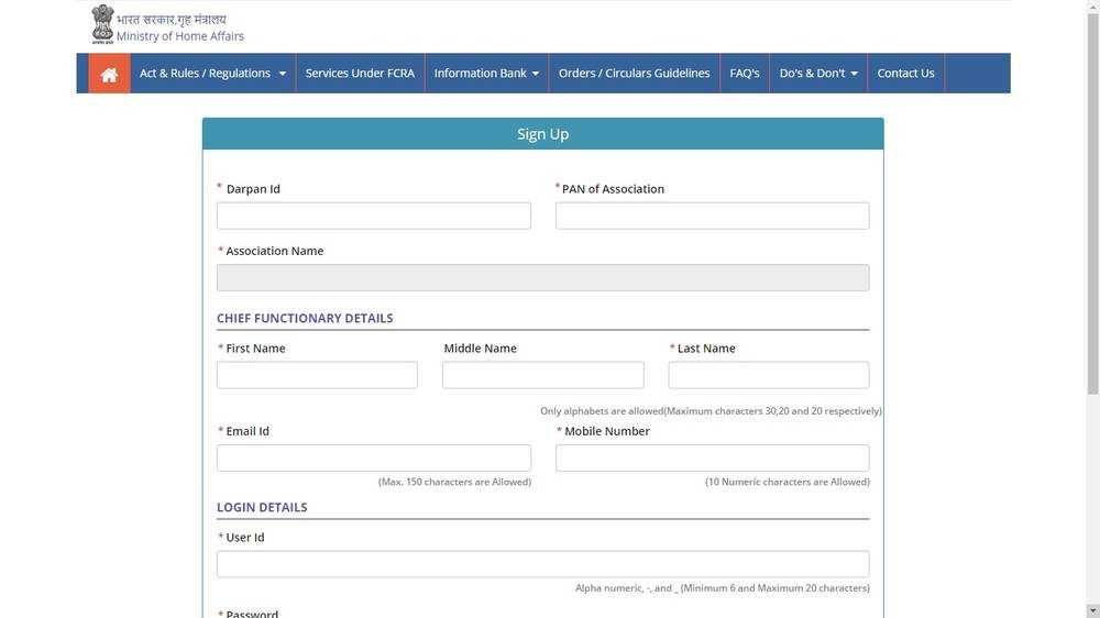 Image 5 FCRA Registration for Trusts and NGOs