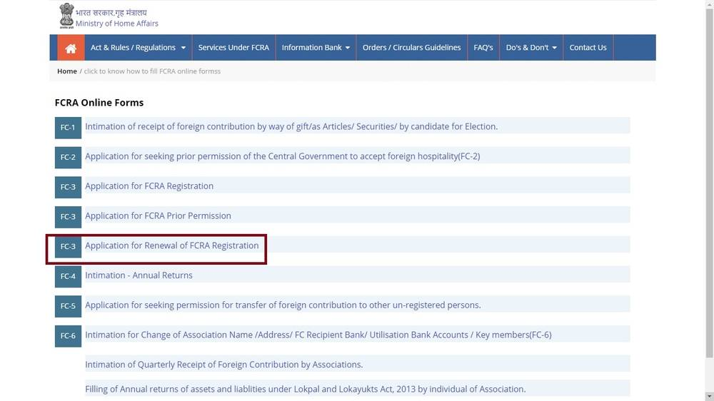 Image 7 FCRA Registration for Trusts and NGOs
