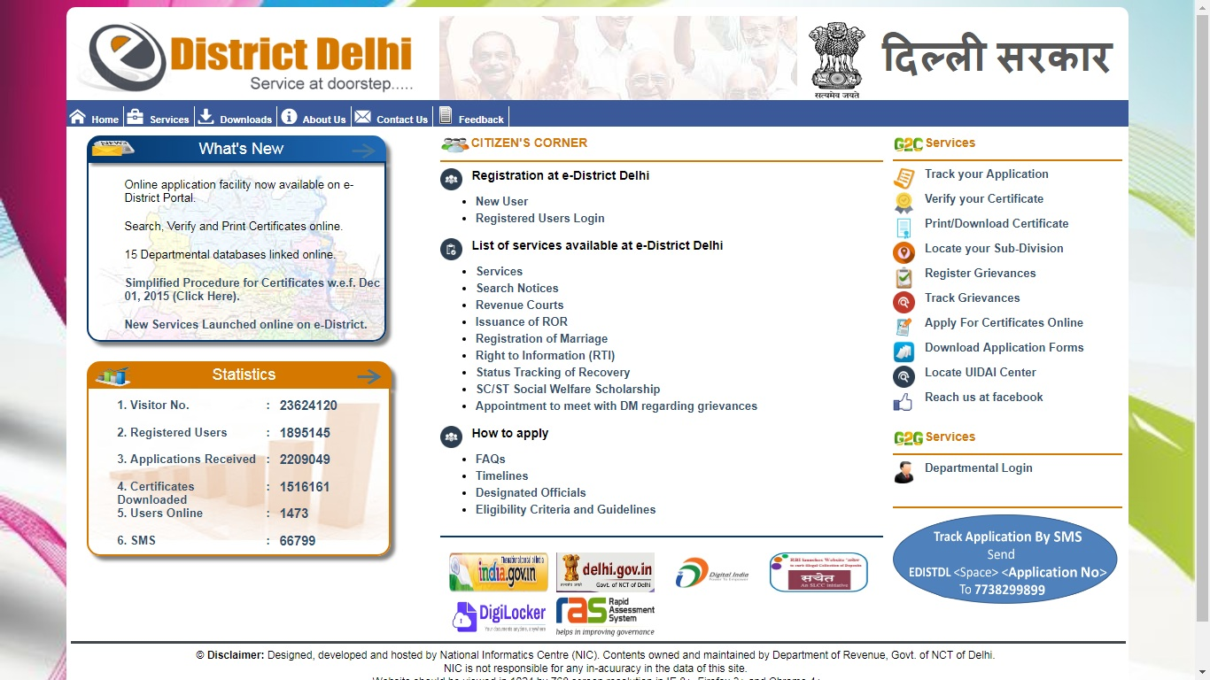 Delhi Income Certificate - Eligibility & Application Procedure