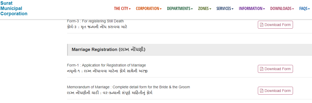 Gujarat Marriage Certificate - Eligibility & Application - IndiaFilings