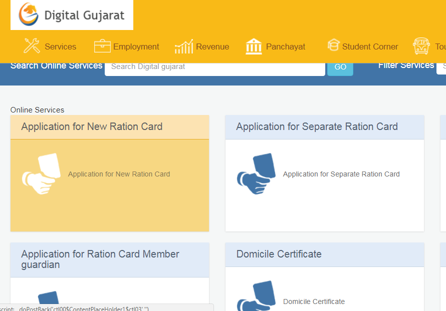 Gujarat-Ration-Card-Application