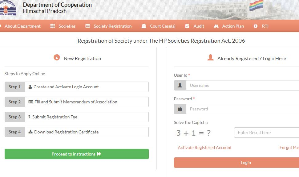 Himachal-Pradesh-Society-Registration-Login-Details