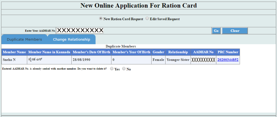Karnataka Ration Card - Eligibility & Application Procedure