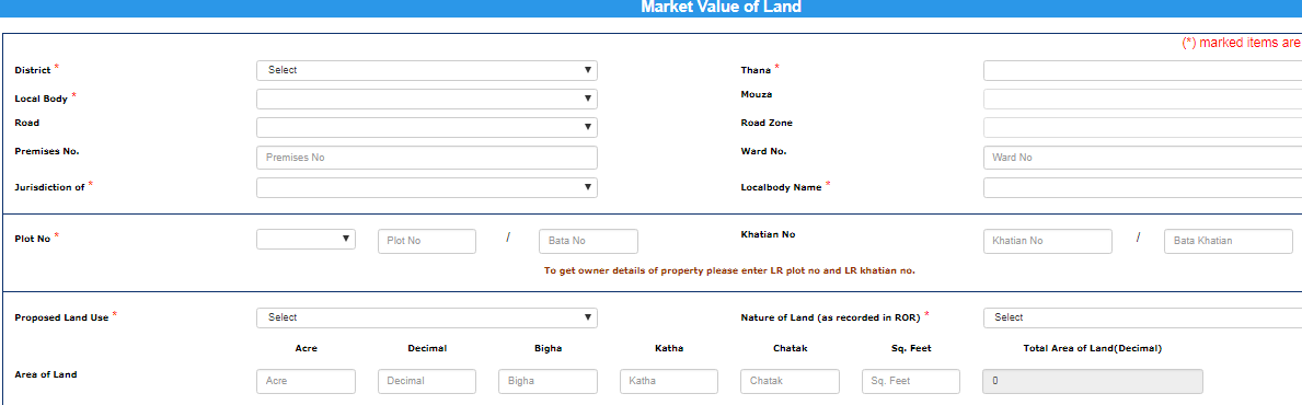 West-Bengal-Property-Registration-Land-Value