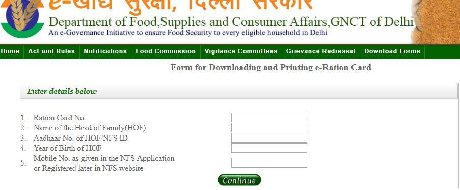 Download-Delhi-Ration-Card