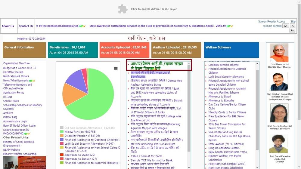 Homepage-Ladli-Social-Security-Allowance-Scheme