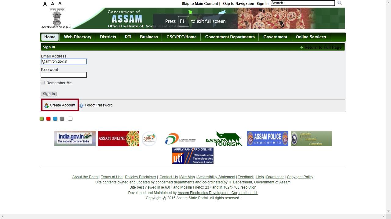 Image 2 Assam Non - Encumbrance Certificate