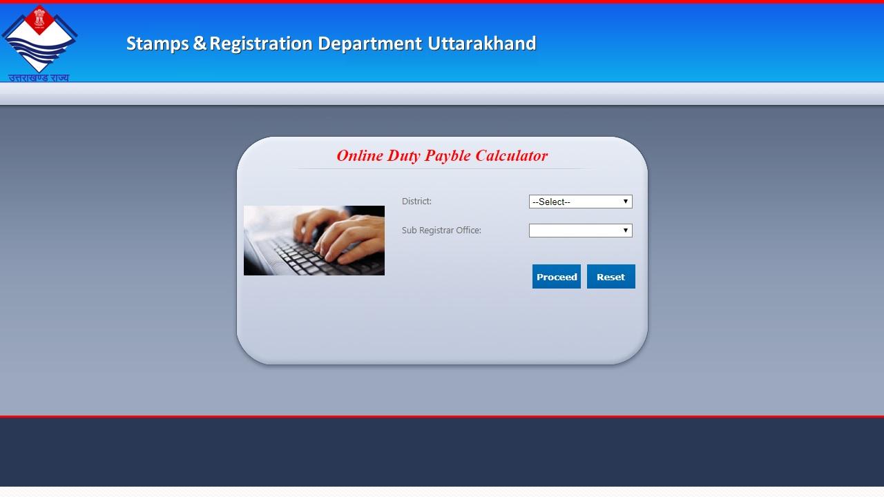 Uttarakhand Property Registration - Online Procedure