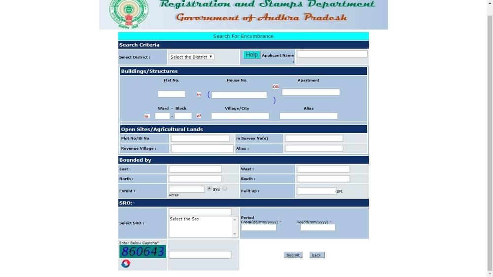 Land-details-Andhra-Pradesh-Encumbrance-Certificate