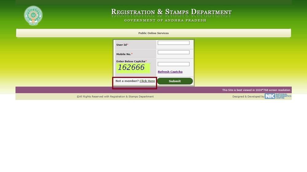 Public-online-service-Andhra-Pradesh-Encumbrance-Certificate
