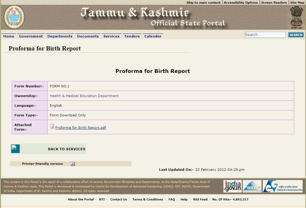 Jammu-and-Kashmir-Birth-Certificate-Birth-Report