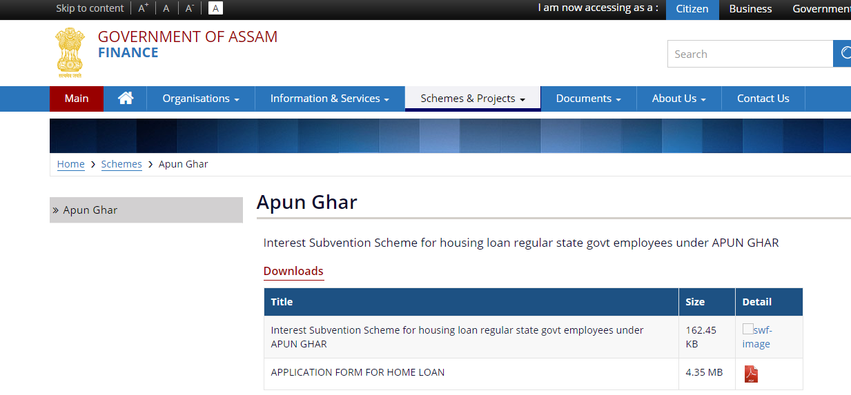 Download-application-form-Apun-Ghar-Home-Loan-Scheme