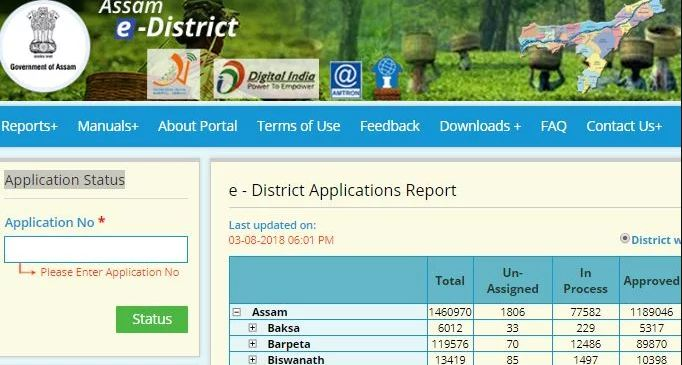 Assam marriage certificate eligibility application indiafilings track application status altavistaventures Image collections