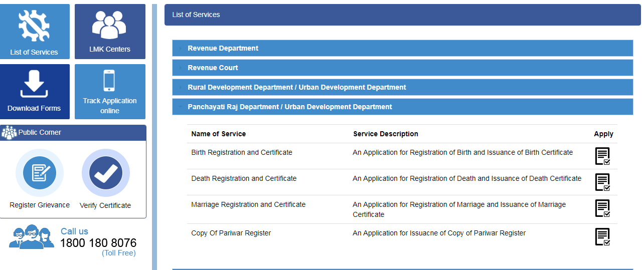 Himachal-Pradesh-Marriage-Certificate-List-of-Services