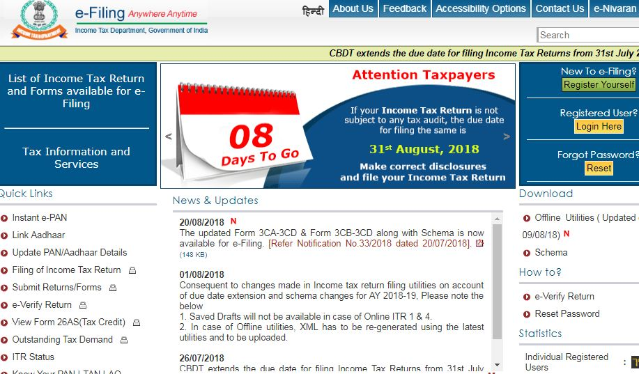 Income Tax Refund Reissue - Refund Not Received - IndiaFilings