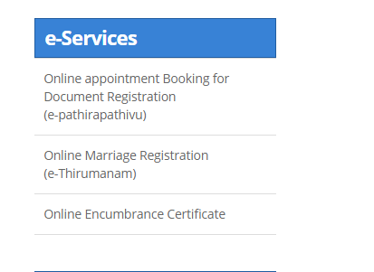 Puducherry-Encumbrance-Certificate-e-Services